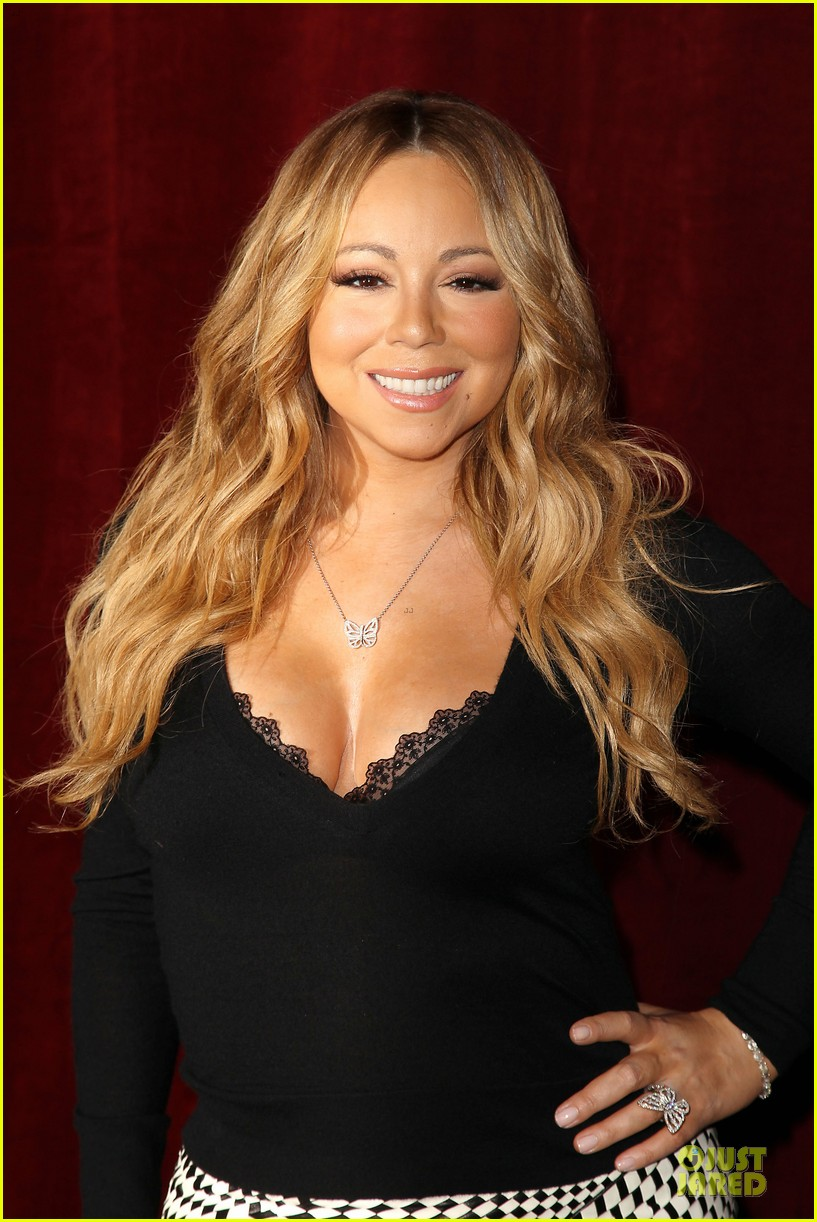 mariah carey bra gets exposure at butterfly launch 063132078