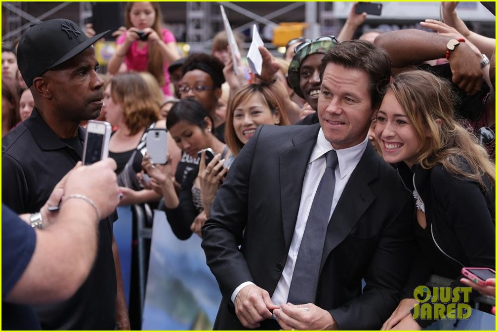 mark wahlberg promotes transformers age of extinction on gma 04
