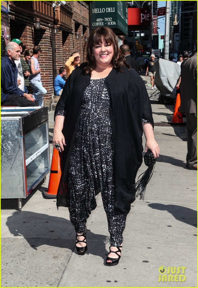 melissa mccarthy talks juggling work family on david letterman 05