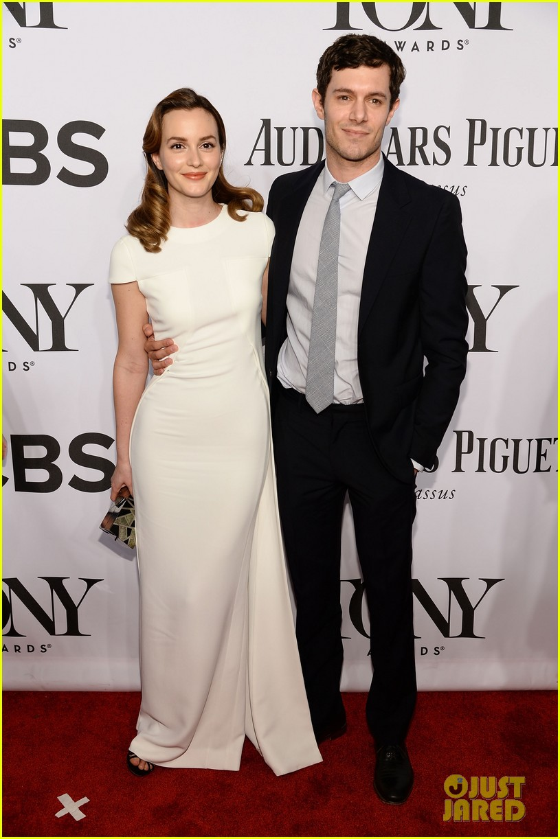 leighton meester adam brody tony awards 2014 013131219