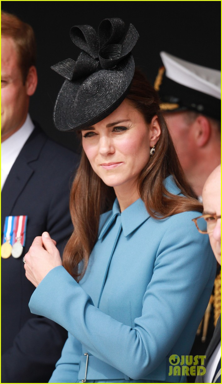 kate middleton prince william pay respects at d day 70th anniversary 173129887