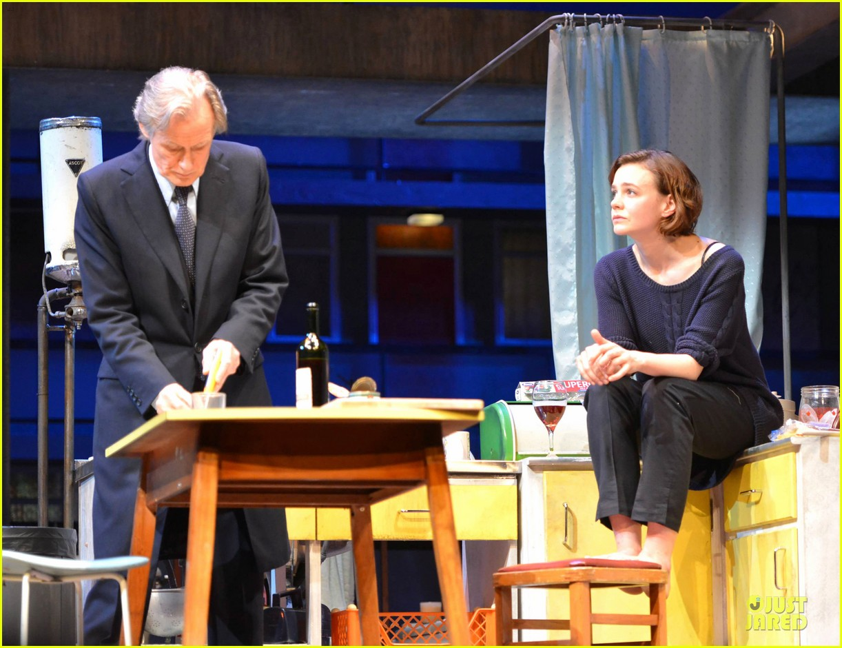 carey mulligan bill nighy embrace in skylight opening 06
