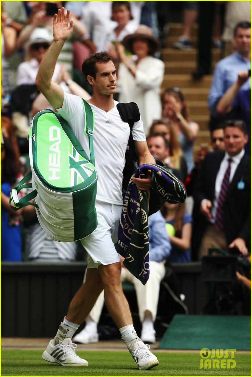 andy murray girlfriend kim sears supports him at wimbledon 033141785