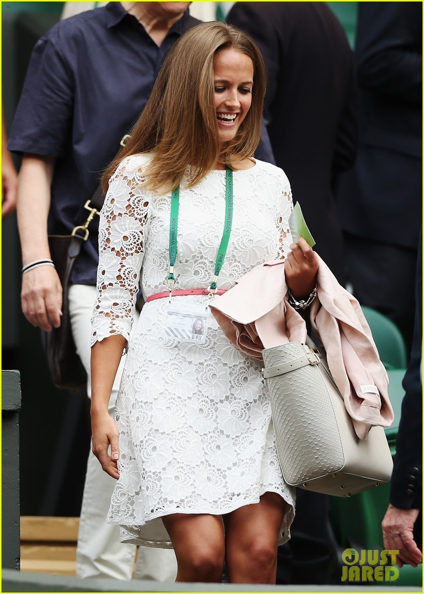 andy murray girlfriend kim sears supports him at wimbledon 073141789