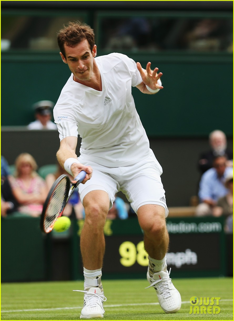 andy murray girlfriend kim sears supports him at wimbledon 113141793