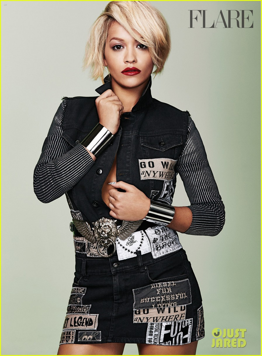 rita ora flare august 2014 issue 023142038