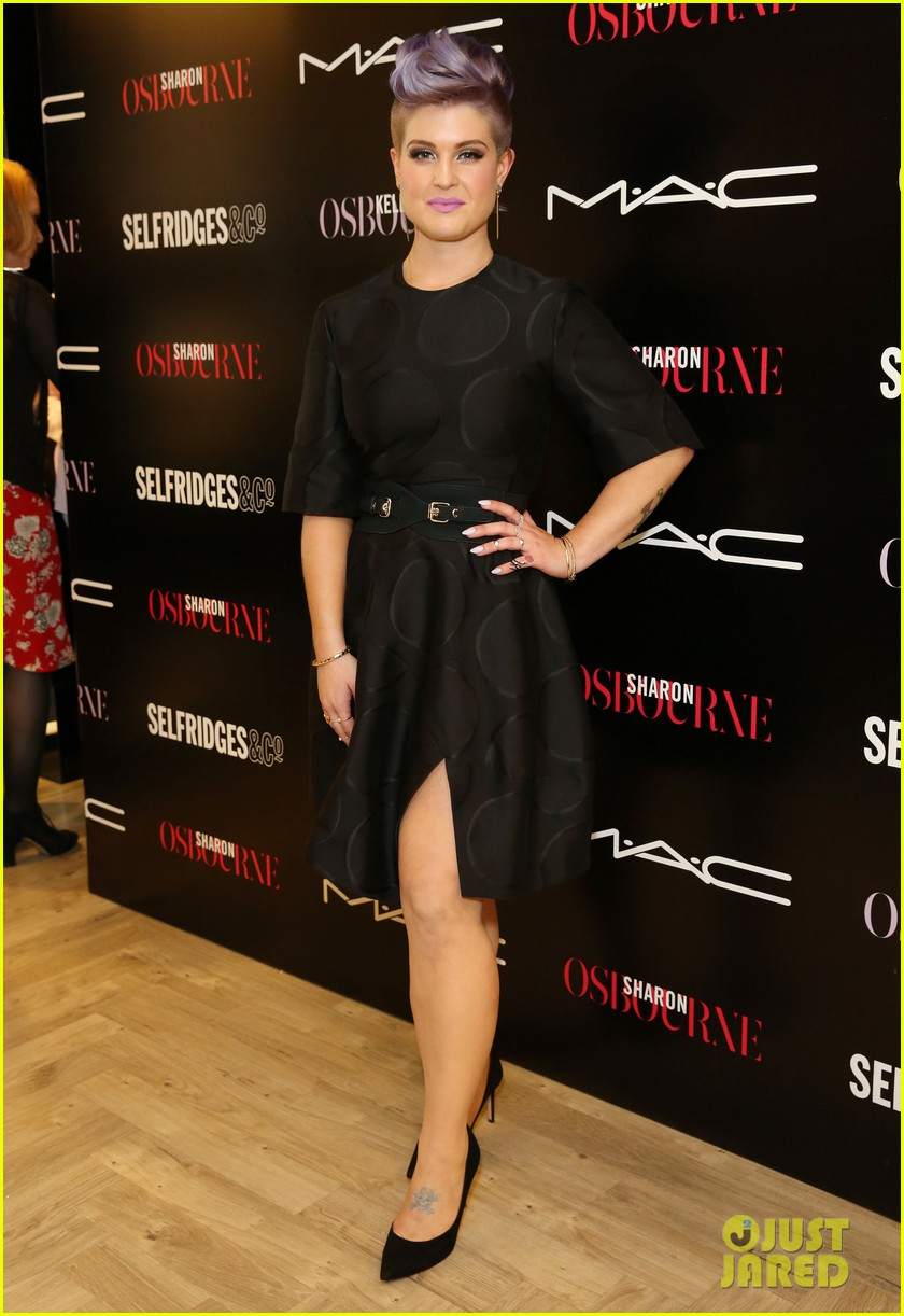kelly osbourne launches her mac collection with mother sharon 12