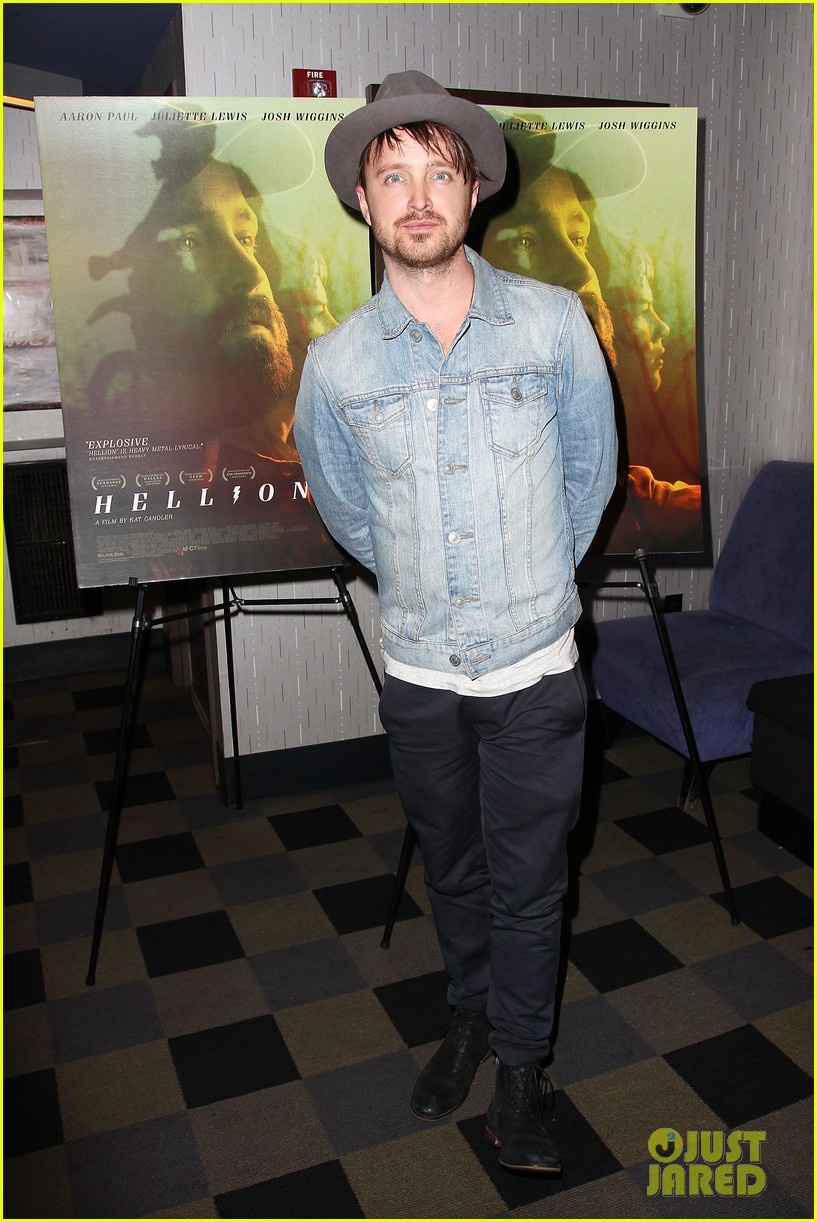 aaron paul watch hellion with him tonight 023134520