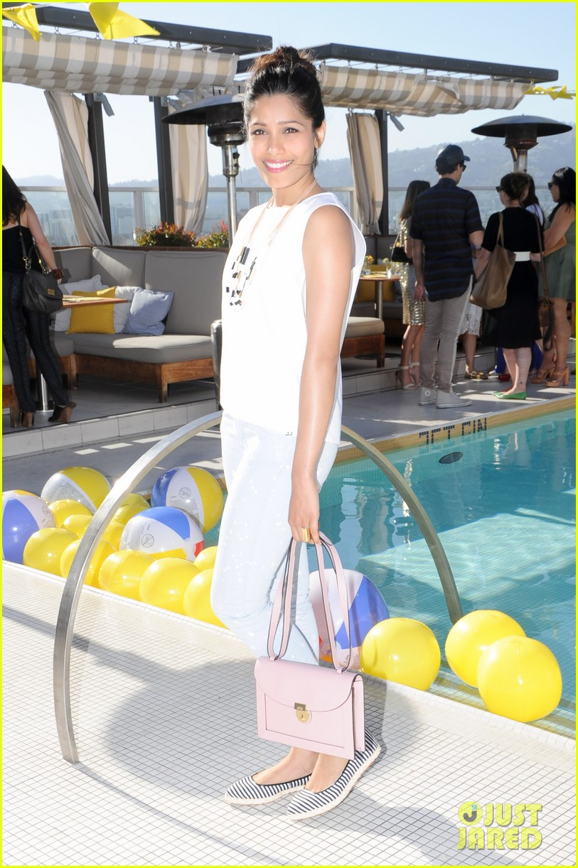 freida pinto camilla belle kate spade saturday 01