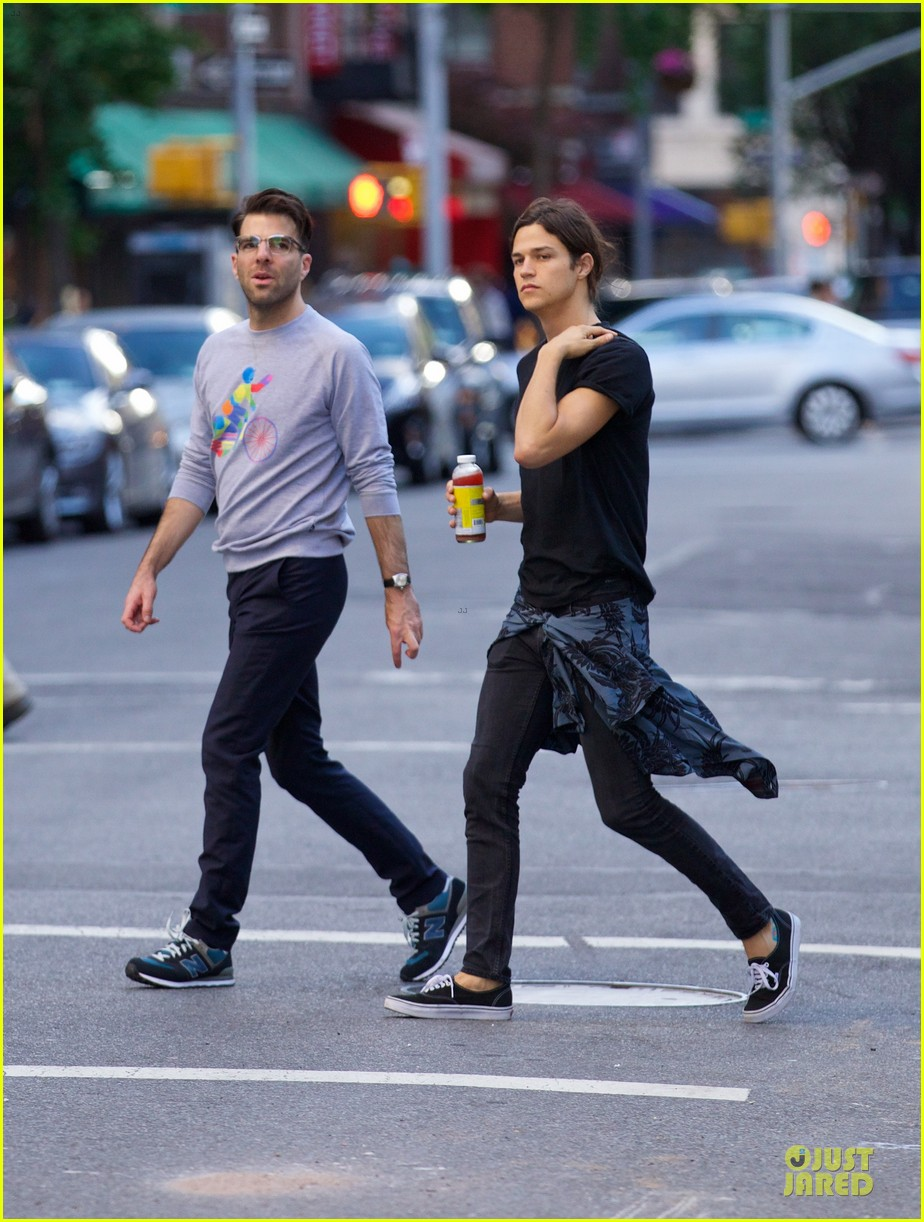 zachary quinto miles mcmillan going strong in nyc 063130188