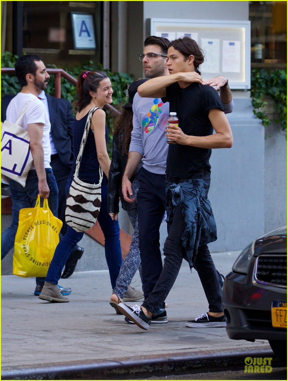 zachary quinto miles mcmillan going strong in nyc 103130192