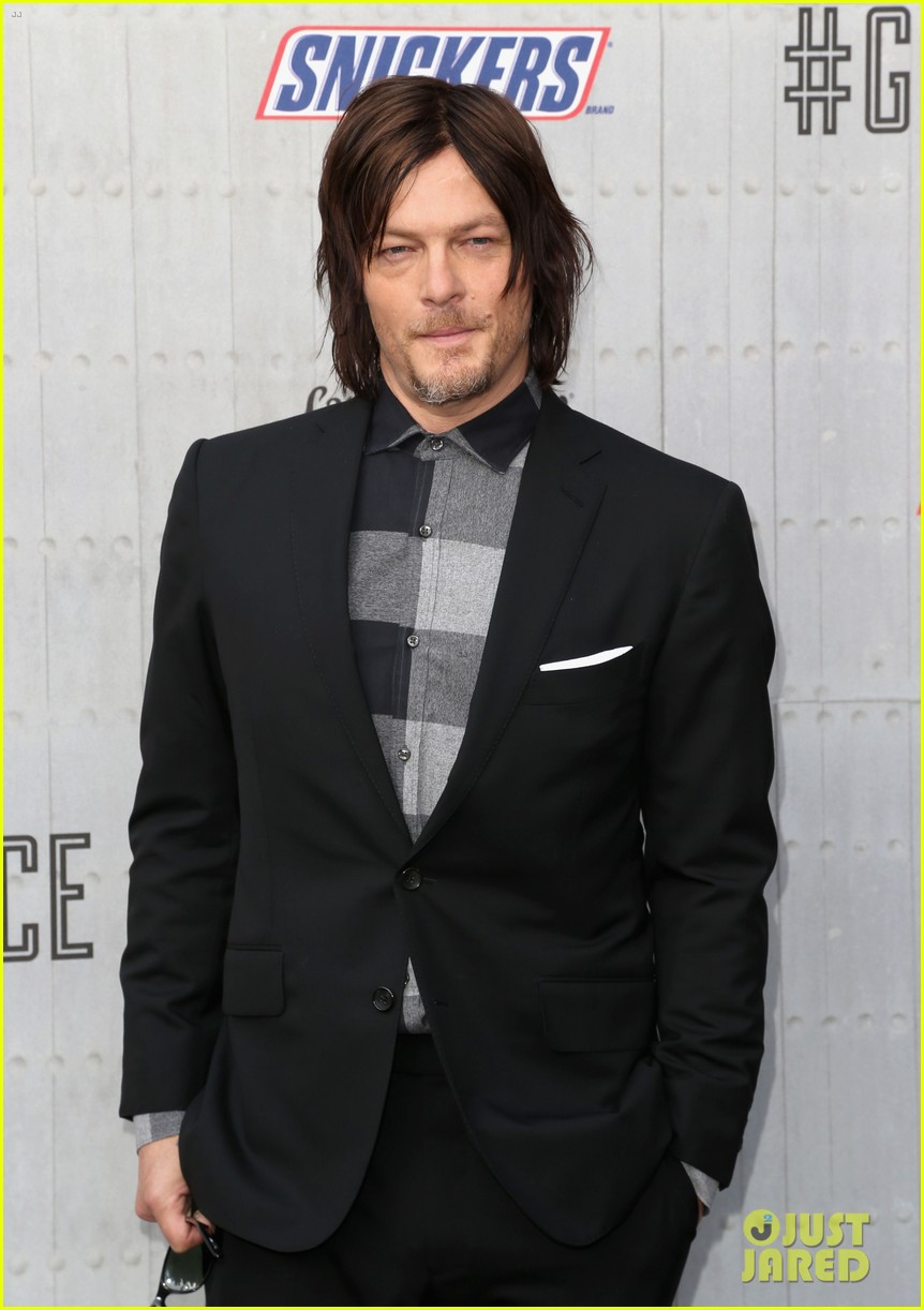 norman reedus lauren cohan guys choice awards 2014 093130829