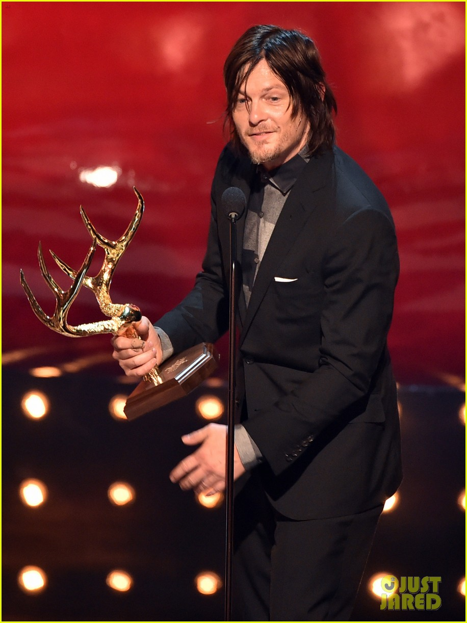 norman reedus lauren cohan guys choice awards 2014 12