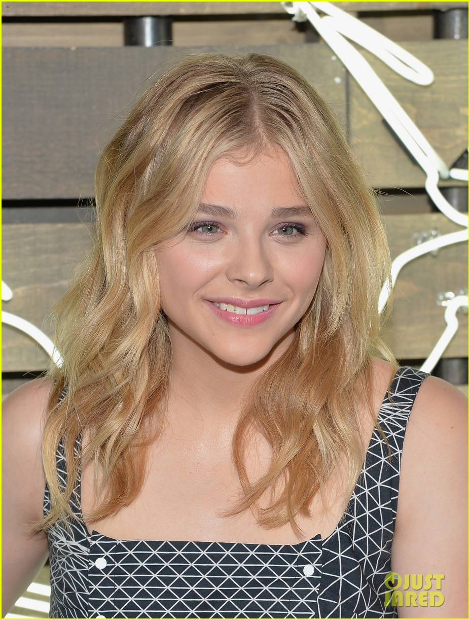chloe moretz summer party nyc coach 2014 10