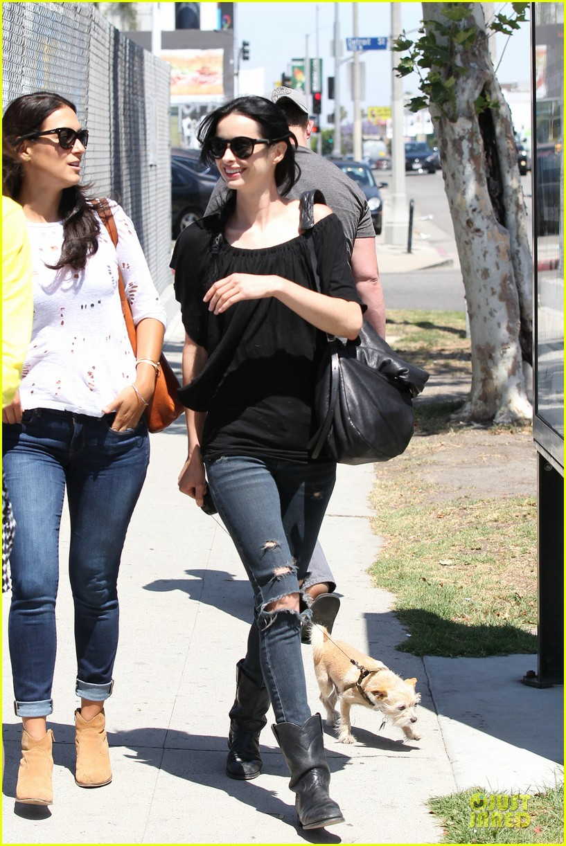 krysten ritter lovely buddy in her life 243127874