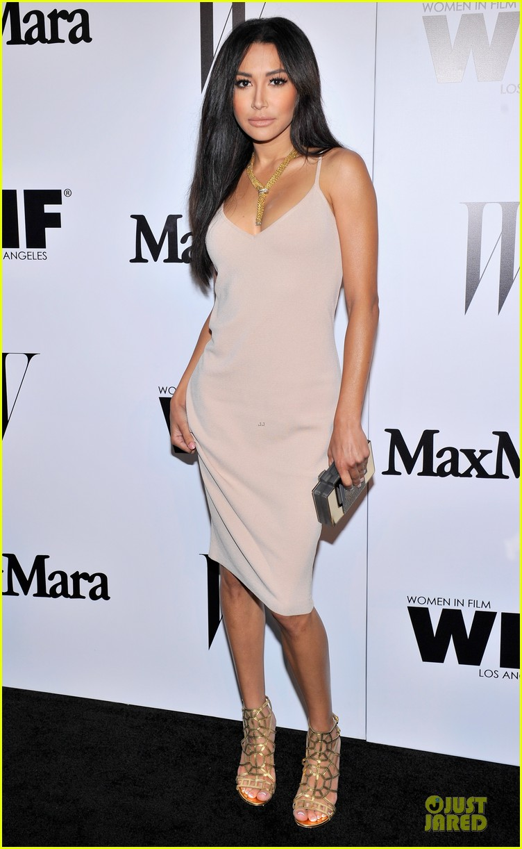 naya rivera zoey deutch super chic at maxmara party 013133463