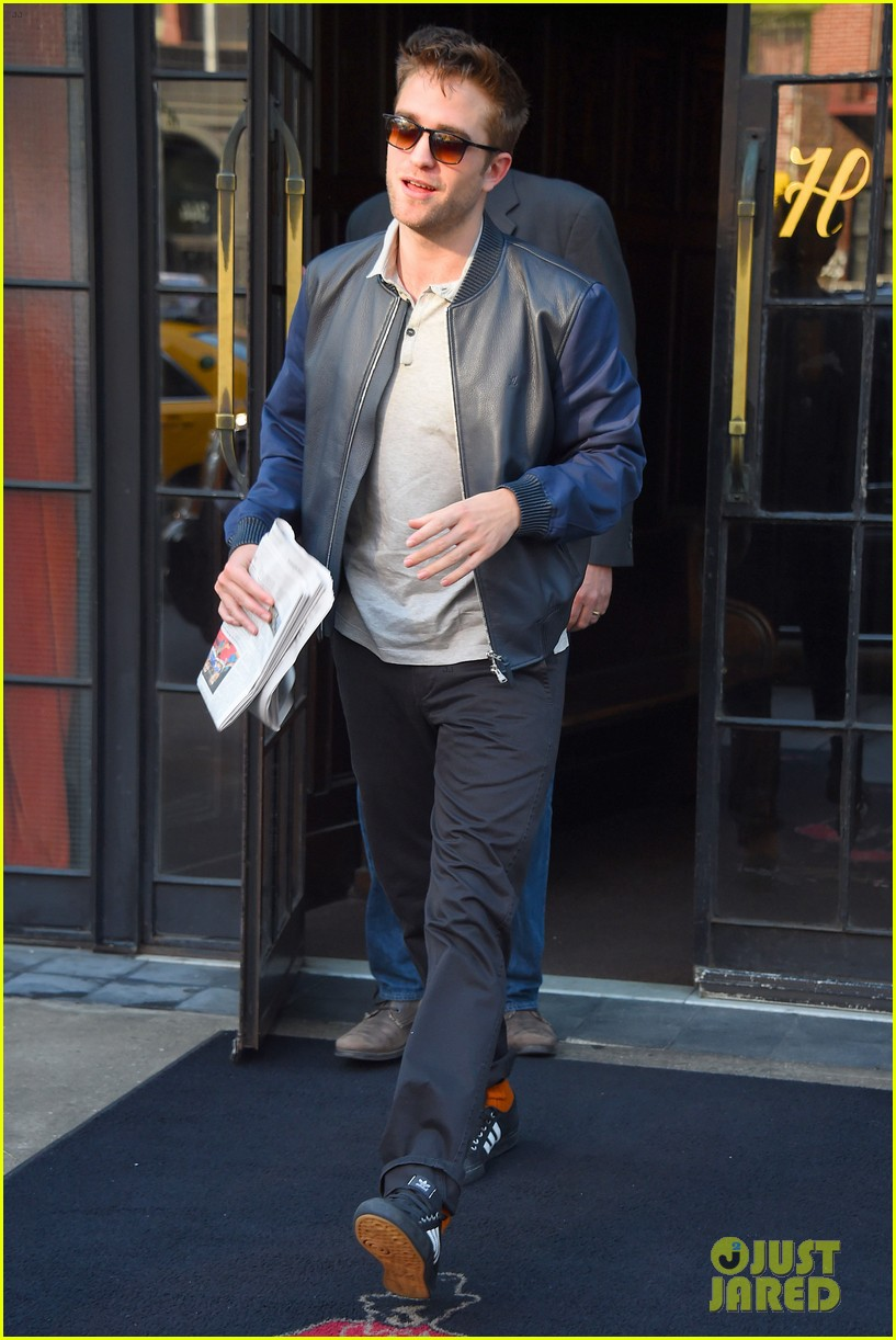 robert pattinson the rover good morning america 10