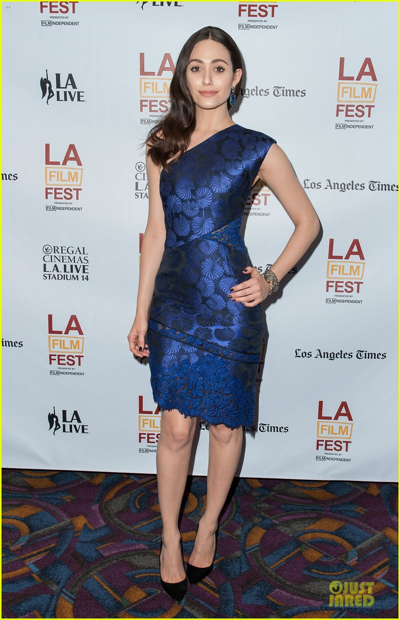 emmy rossum brings comet to laff 01