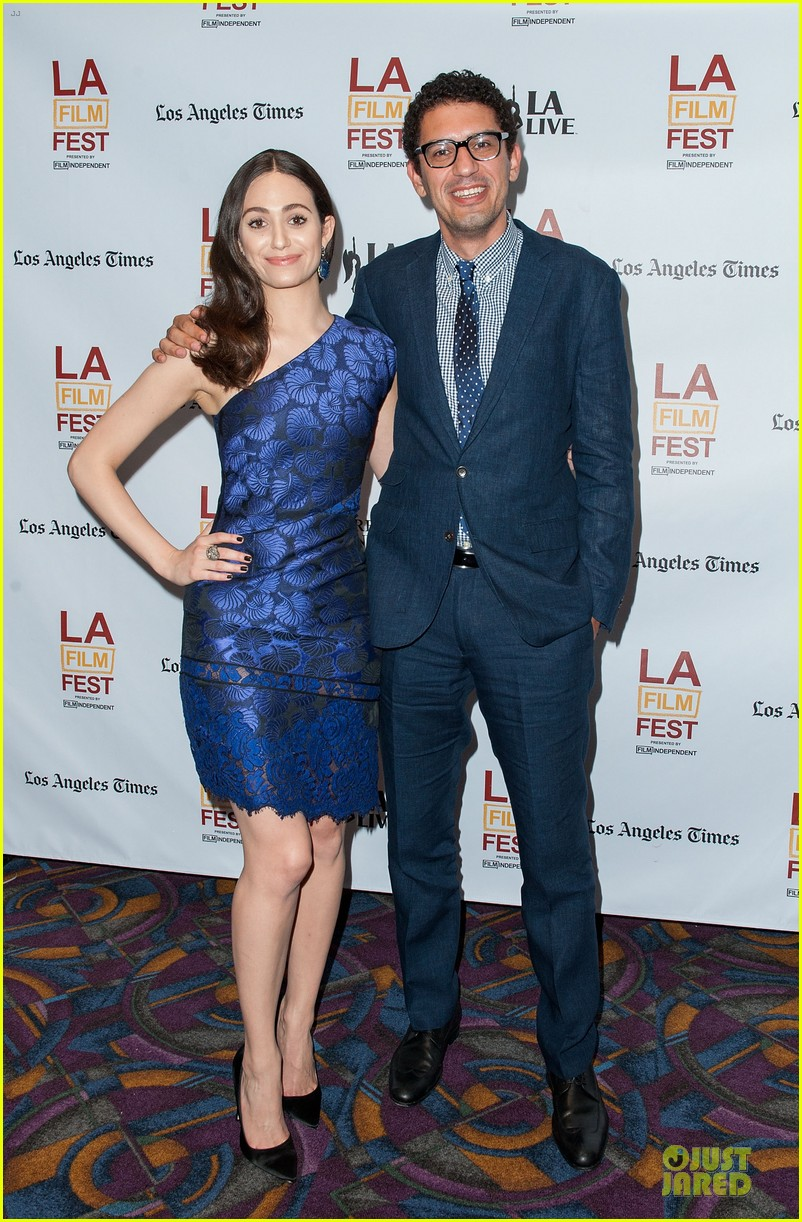 emmy rossum brings comet to laff 03