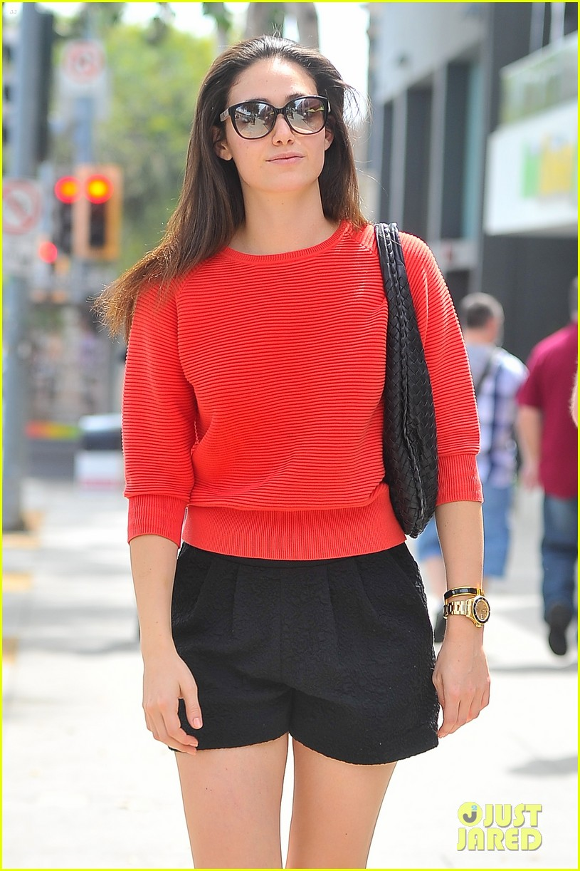 emmy rossum red sweater sweetie 14