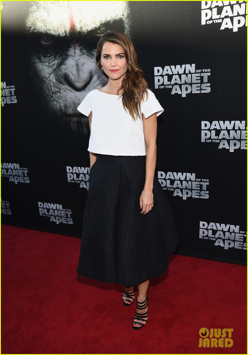 keri russell gets glam for dawn of the planet of the apes 153144608