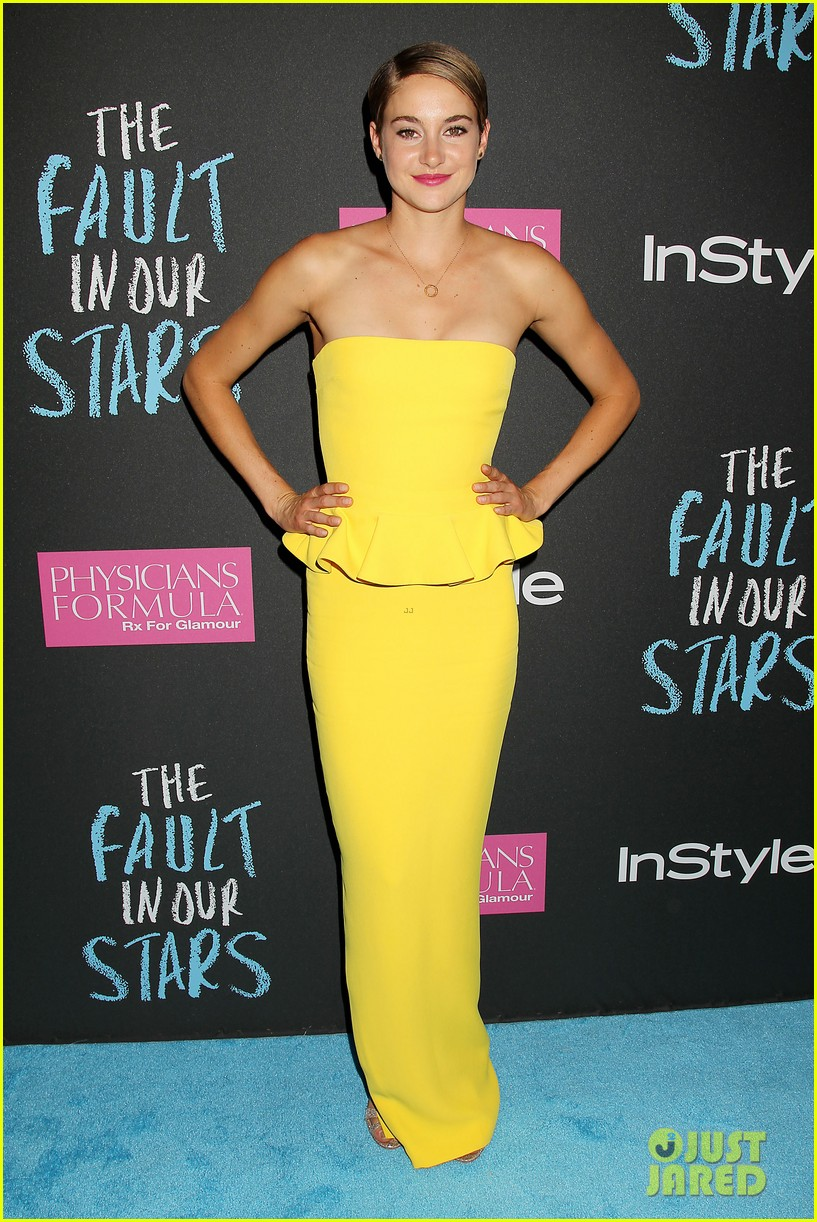 shailene woodley fault in our stars nyc premiere 083126854