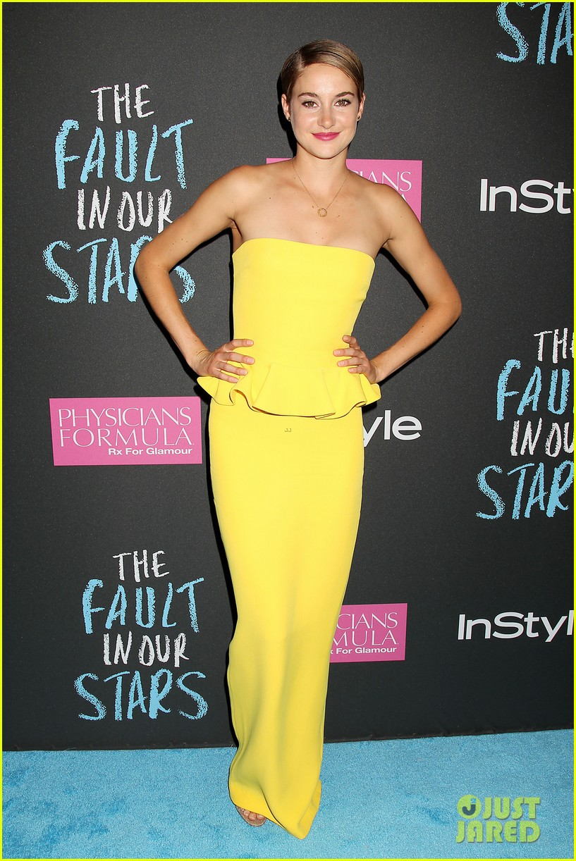 shailene woodley fault in our stars nyc premiere 103126856