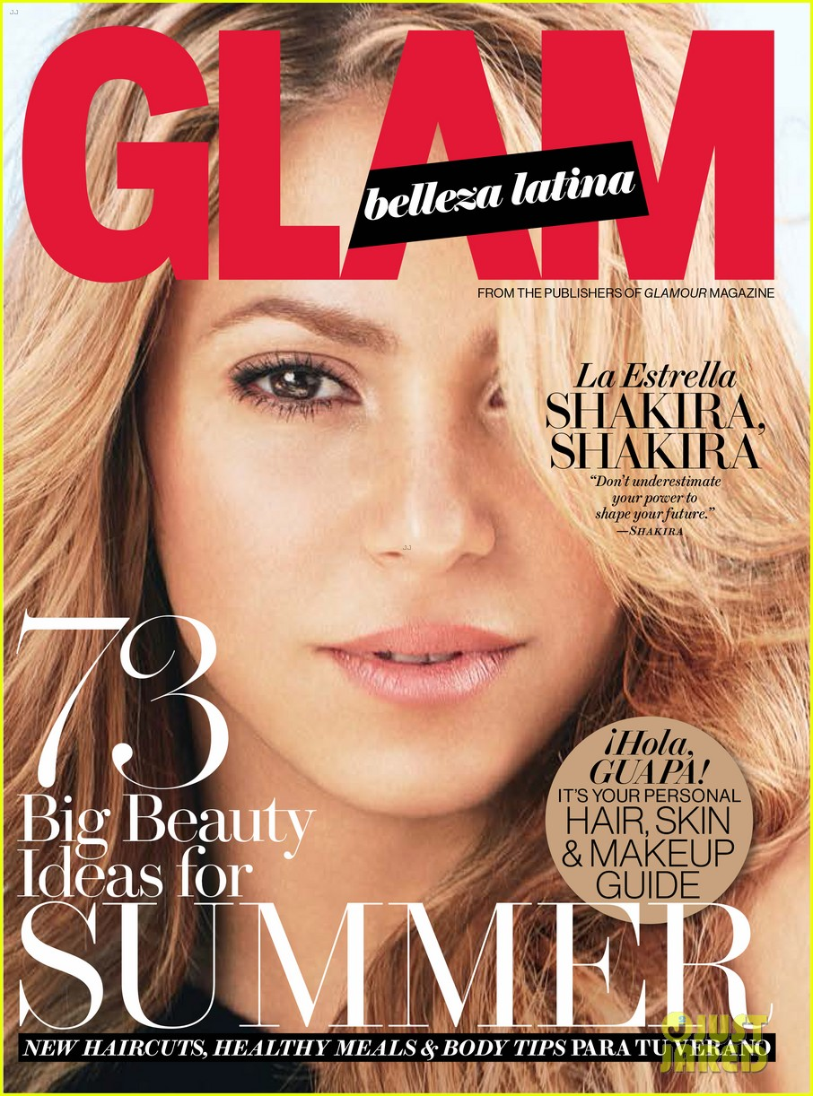 shakira glam belleza latina july 2014 02