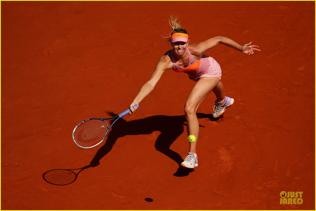 maria sharapova wins second french open 013130408