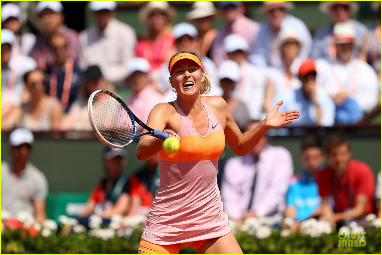 maria sharapova wins second french open 073130414