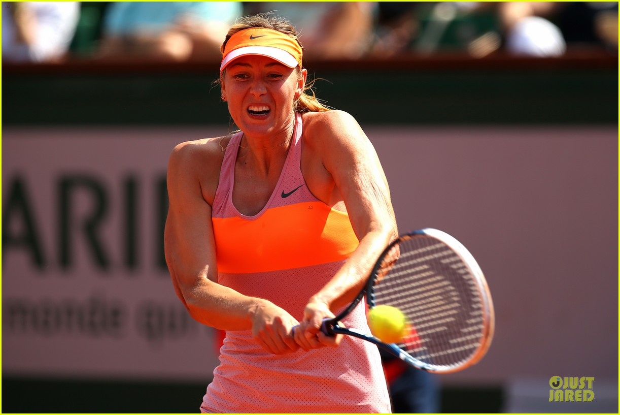 maria sharapova wins second french open 08