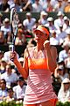 maria sharapova wins second french open 09
