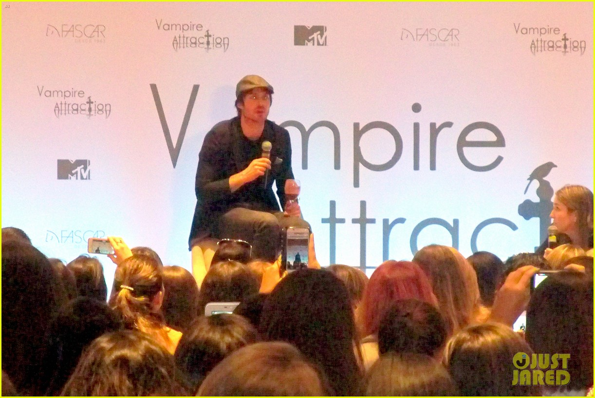 ian somerhalder tells his brazilian fans to stop screaming 043125603