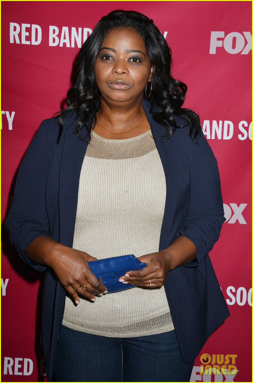 octavia spencer joins red band society cast at special l a screening 093143673
