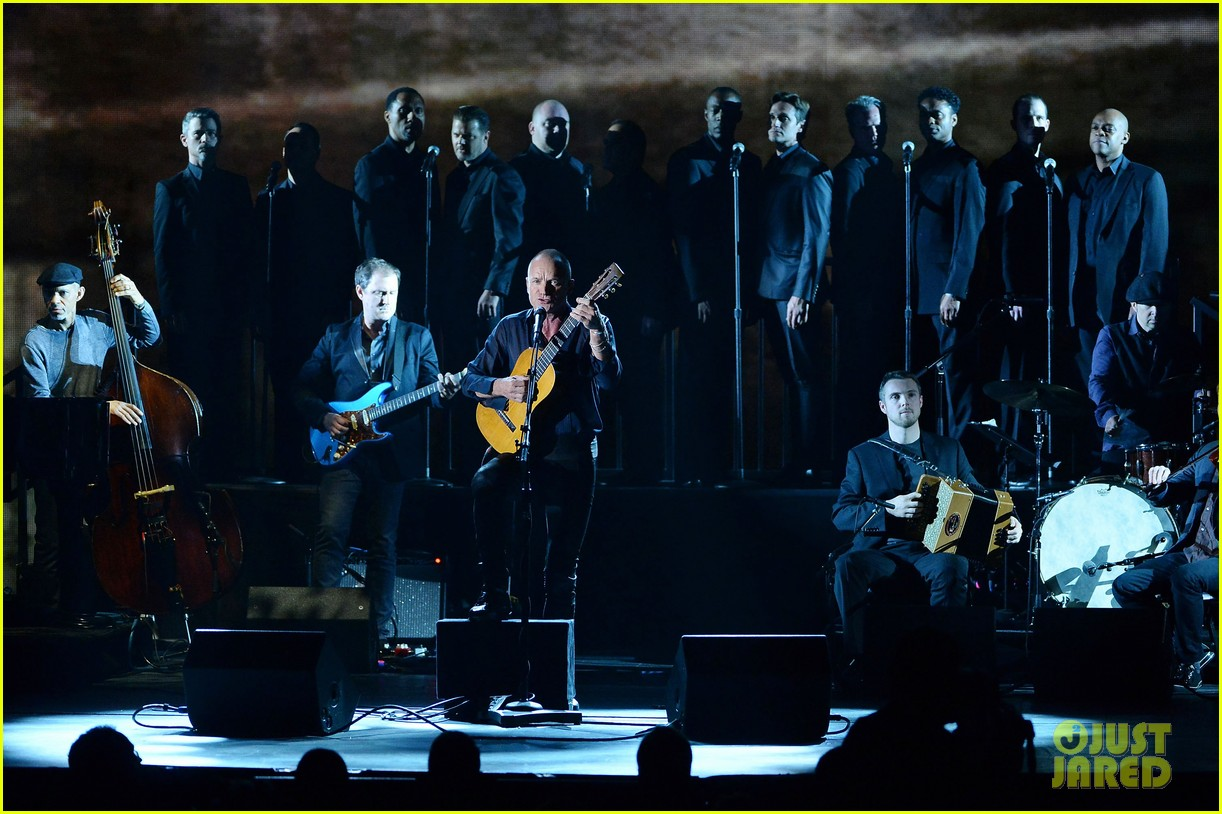 sting performs last ship at tony awards 2014 video 02