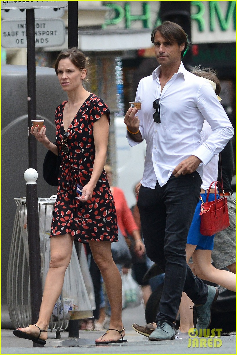 hilary swank boyfriend laurent fleury cool down glace 07