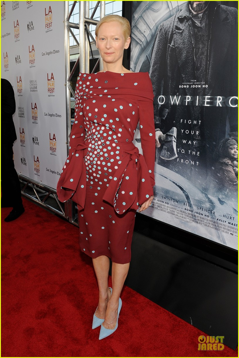 tilda swinton alison pill hot for snowpiercer laff premiere 06