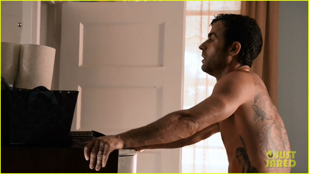 justin theroux shirtless the leftovers series premiere 023146753
