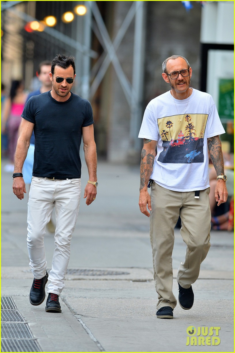 justin theroux hangs out with terry richardson 03