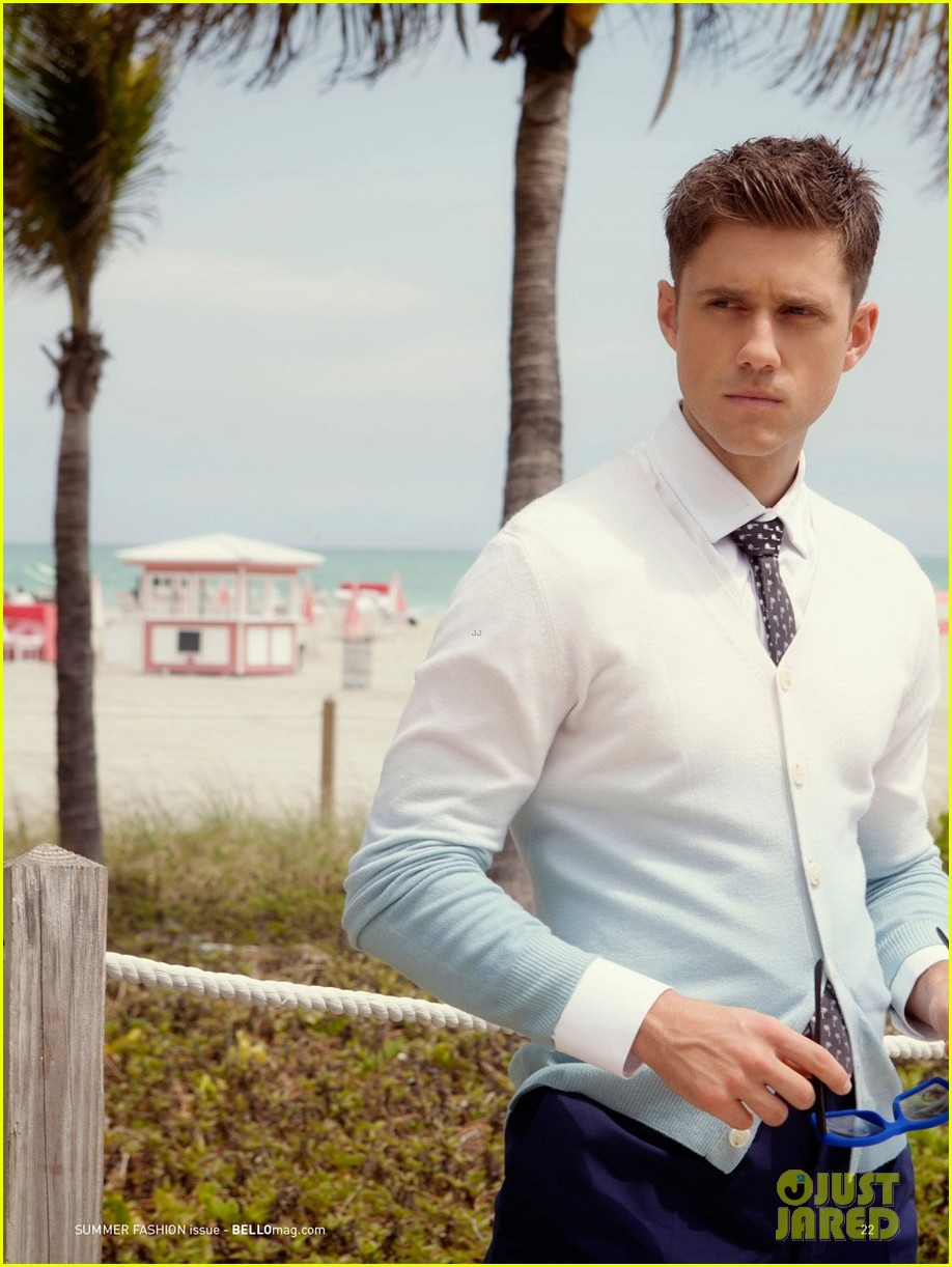 aaron tveit bello magazine 04
