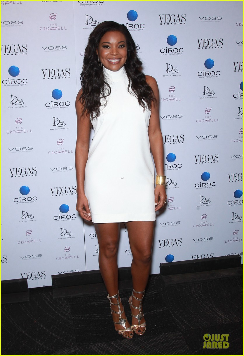 gabrielle union sexy back at vegas cover party 13