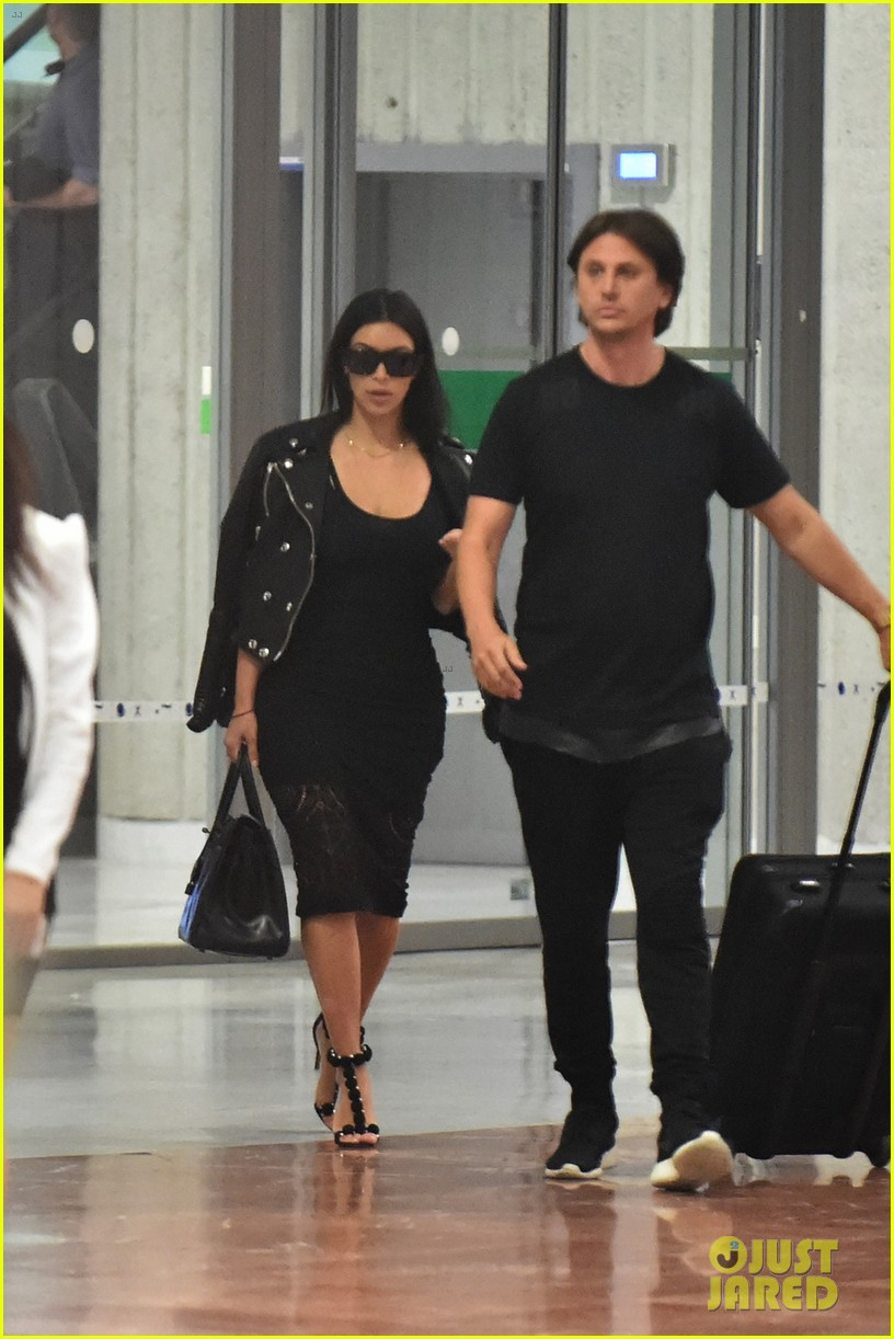 kim kardashian lands in nice while kanye west flies out 04