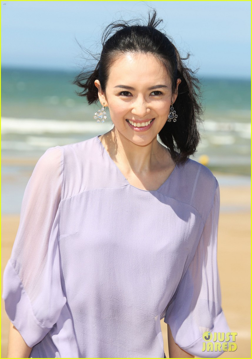 Zhang Ziyi Beach Pictures To Pin On Pinterest Tattooskid
