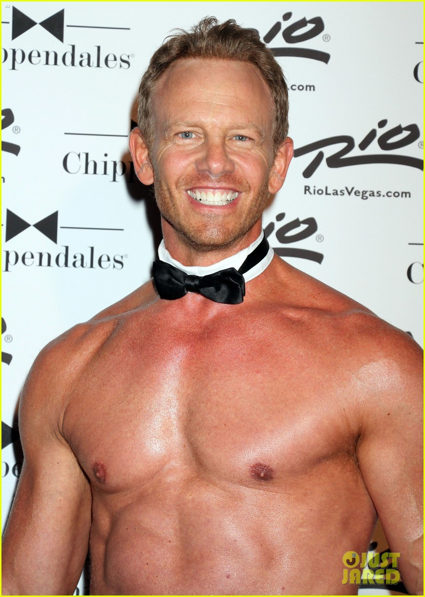 ian ziering shirtless chippendales 04
