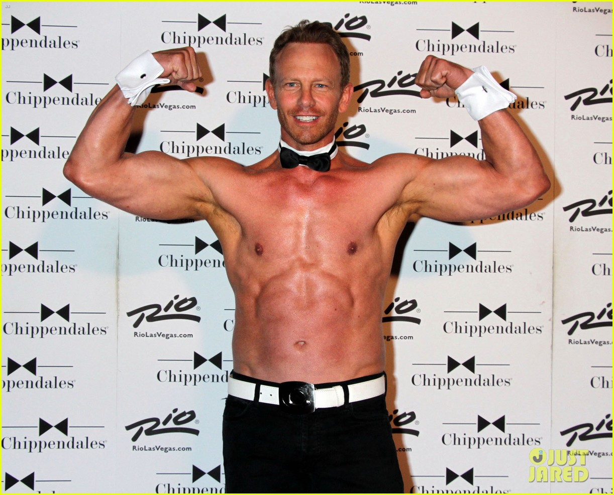 ian ziering shirtless chippendales 10
