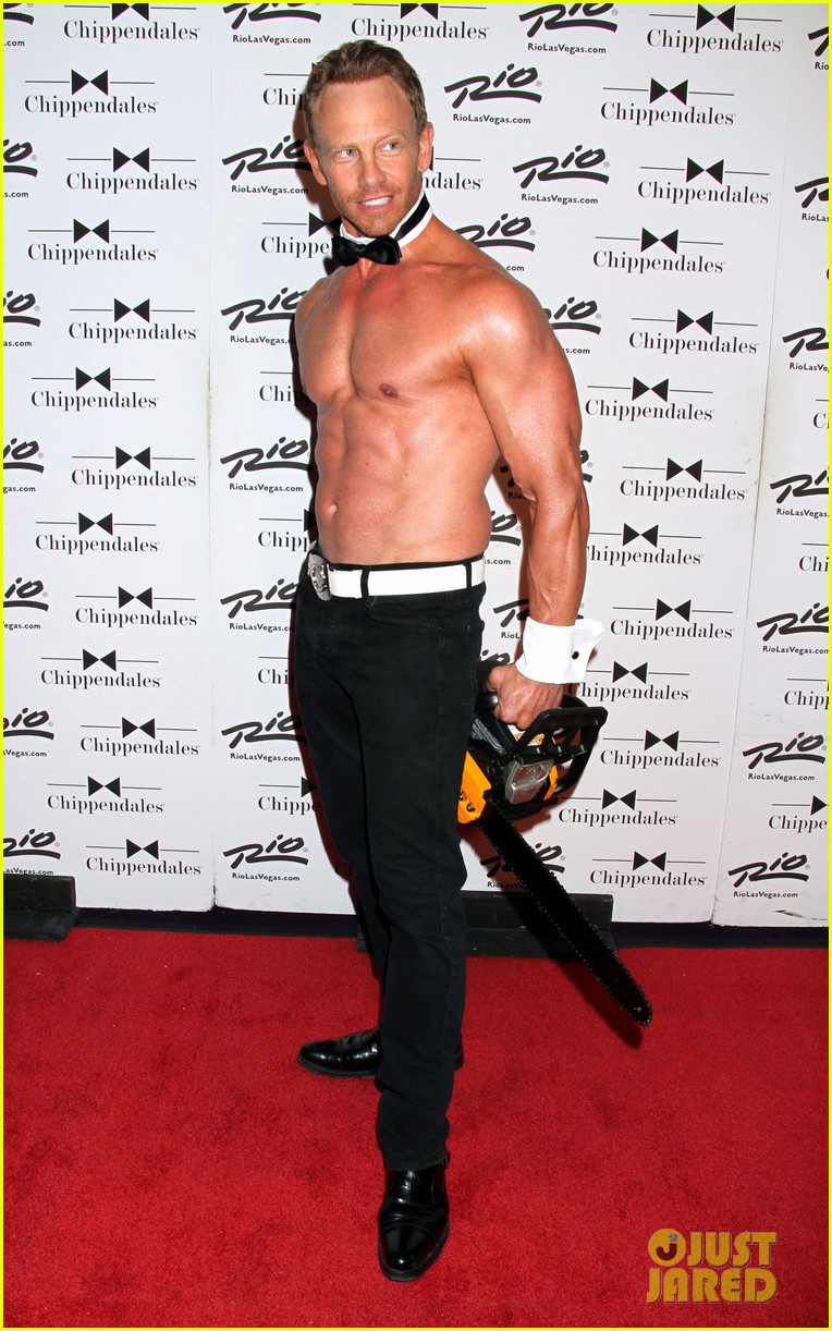 ian ziering shirtless chippendales 19