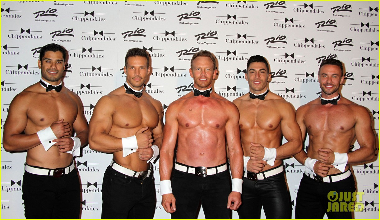 ian ziering shirtless chippendales 213136415