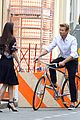 simon baker picks up a lady on his bike for givenchy commercial 09