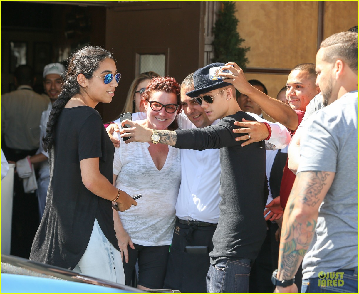justin bieber yovanna ventura step out for lunch 153151929