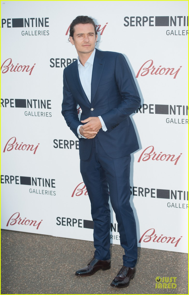 orlando bloom pharrell williams serpentine gallery party 01